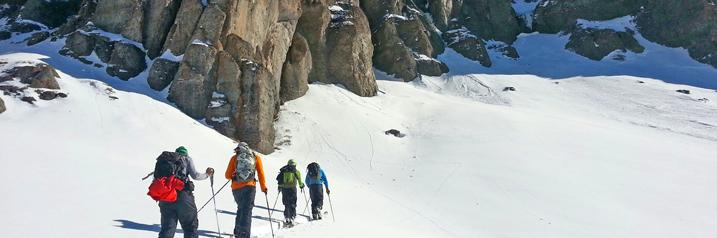 Backcountry Skiing in Telluride Colorado