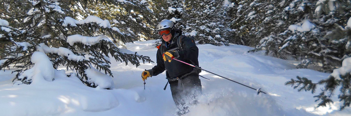 Backcountry Skiing in the San Juan Mountains in Telluride Colorado