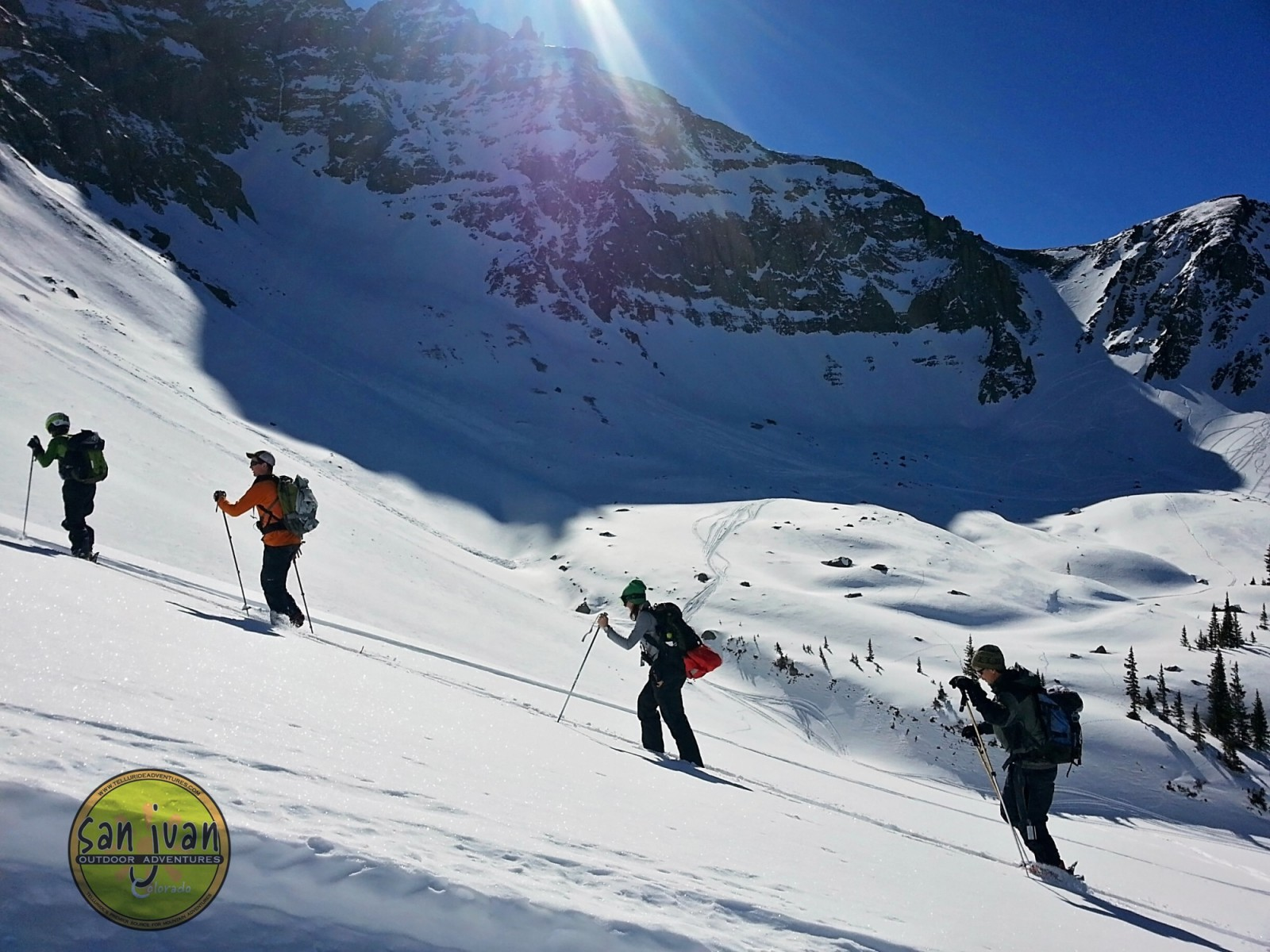 Backcountry Skiing in Telluride Colorado