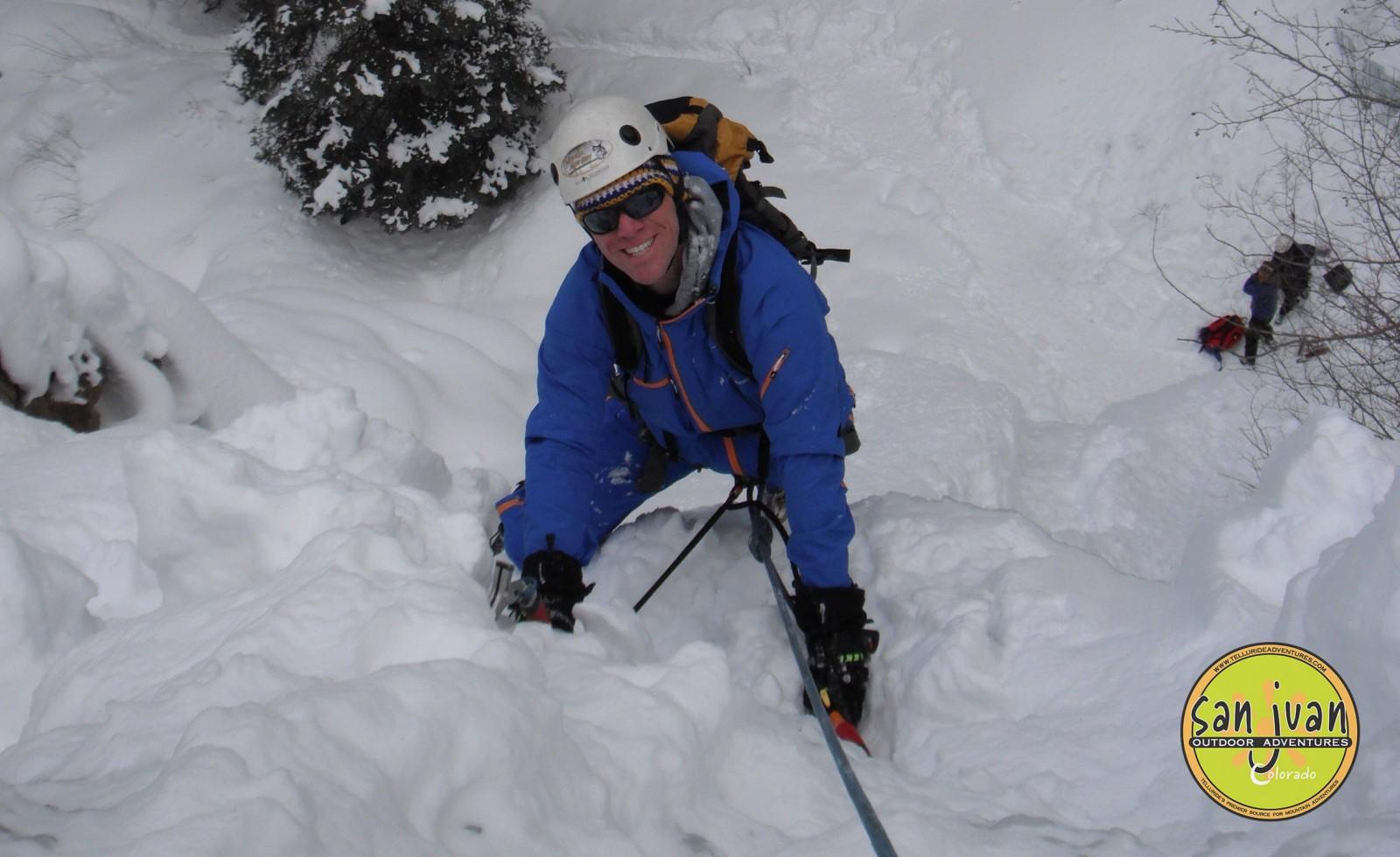 Ice Climbing in Telluride Colorado